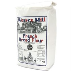 French Bread Flour 1.5kg | T65 | Wessex Mill | Buy Online | Baking Ingredients | UK